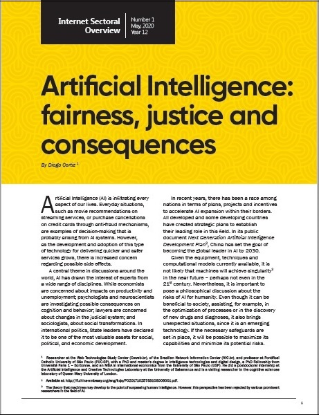 Year XII - N. 1 - Artificial Intelligence: fairness, justice and consequences